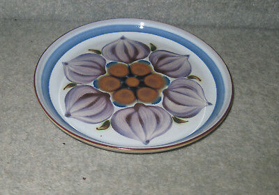DENBY/LANGLEY CHATSWORTH TEA PLATE (darker shading)