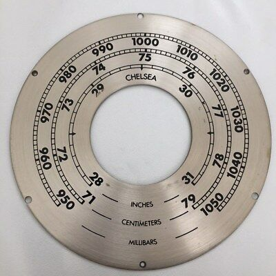 Chelsea Clock Co. Six Inch SHIPS BELL BAROMETER Dial