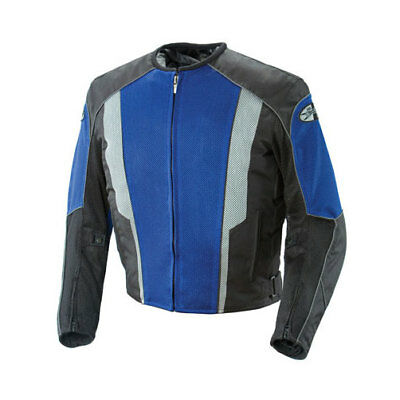 Joe Rocket Phoenix 5.0 Mens Jacket Black/Blue