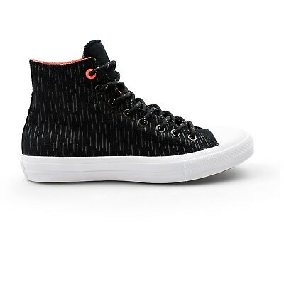 Converse Chuck Taylor All Star II Shield Hi Counter Climate Black Mens Trainers