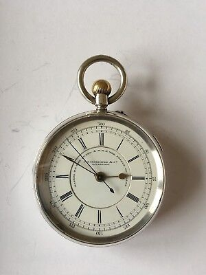 Ball Watch Co. pocket watch made by Hamilton Watch Co ...