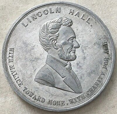 Abraham Lincoln, The American University Lincoln Hall Fund Membership Medal