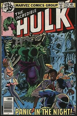 Incredible Hulk #231  Very Nice Nm- 9.2 Glossy Cover White Pages Original Owner