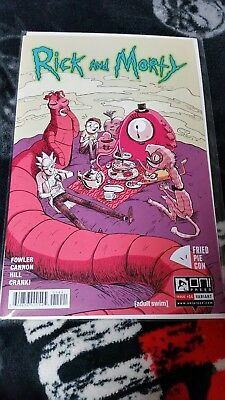 RICK AND MORTY #14 RARE Fried Pie Con Variant Exclusive BAM! High Grade NM 14