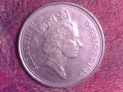 Great Britain   5   Pence  1989