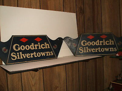 Vintage Goodrich tire display stand advertising gas station