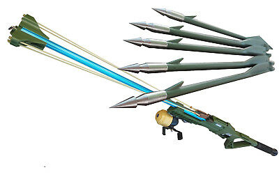 Aluminium Alloy Spear Gun Spearfishing Speargun Comes with Arrows Spinning Reel