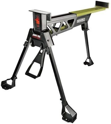 37 IN  SAW Horse Workbench Jawhorse Clamping Rolling
