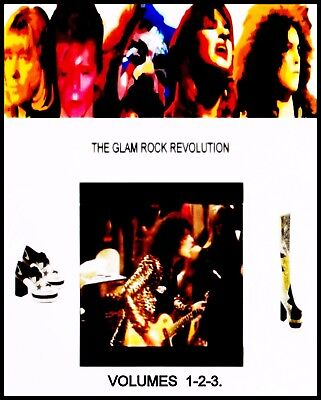 MARC BOLAN T.REX  = THE GLAM REVOLUTION  VOL 1/2/3   =  BEST QUALITY TO DATE dvd