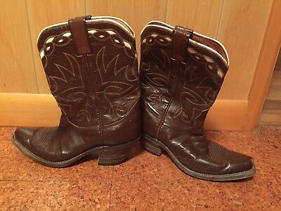 Rare Vintage Leather Western NOCONA Cowboy Boots See Measurements 1940's 1950's