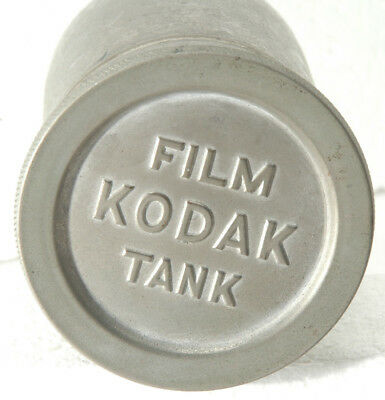 Kodak Film Tank with spool and apron from circa 1907  FOR PARTS OR REPAIR