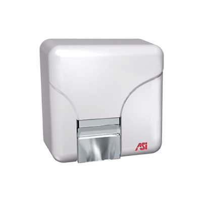 ADA Compiant--ASI 0141 Porcelair Hand Dryer - White