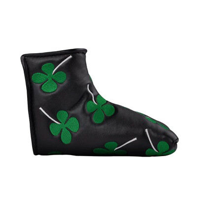 Shamrock Lucky Clover Putter Head Cover Four Leaf Clover Headcover AU Shipping
