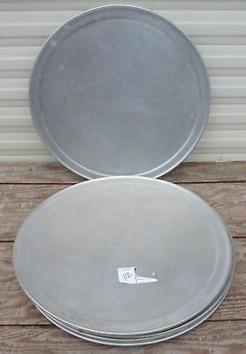 """LOT 2 - 17"""" Aluminum Pizza Pan Tray cover lid serving baking oven plate"""