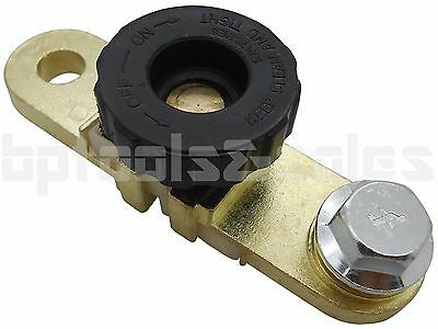 Battery Link Terminal Quick Cut-off Disconnect Master Kill Shut Switch Side Post
