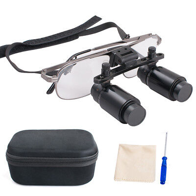 Dental Loupes 4x R 300-500mm 4.0x Magnification Surgical Medical Binocular Glass
