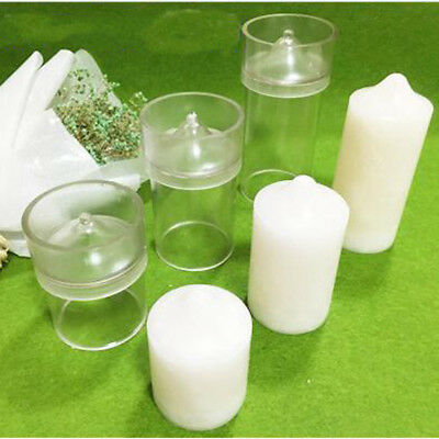 Plastic Candle Molds for Homemade Candle Making and Containers