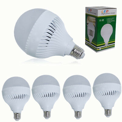 18W GLS LED Light Bulb Cool White B22 Bayonet E27 ES Equivalent 150w Bright Lamp