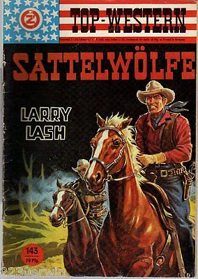 TOP WESTERN EXPRESS 143 / Larry Lash / (1962-1975 Indra-Verlag)