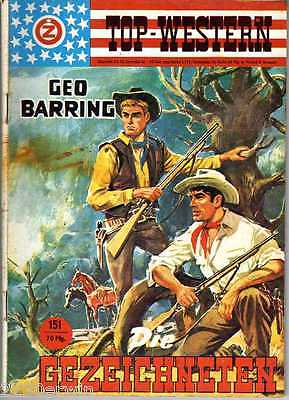 TOP WESTERN EXPRESS 151 / Geo Barring (1962-1975 Indra-Verlag)