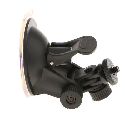 Camera Suction Cup Mount Tripod Adapter with 1/4 Threaded for GoPro Hero 4