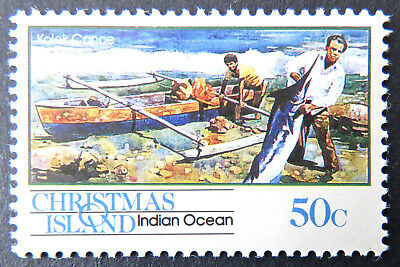 1990 Christmas Island Stamps - Transport Through the Ages - Pt I Single 50c MNH