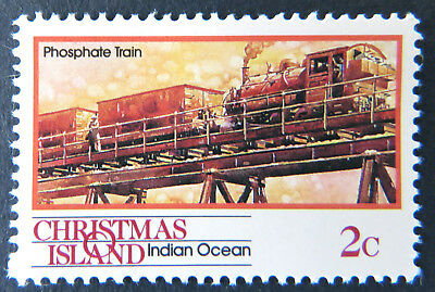 1990 Christmas Island Stamps - Transport Through the Ages Pt II - Single 2c MNH