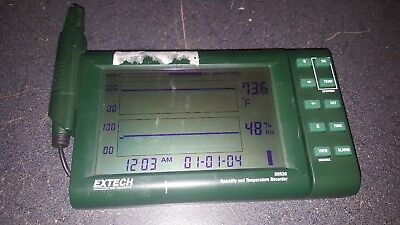Extech Model RH520 Humidity and Temperature Recorder