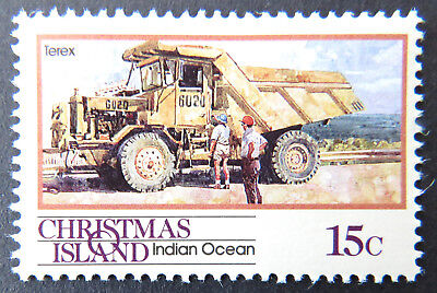 1990 Christmas Island Stamps - Transport Through the Ages Pt II - Single 15c MNH