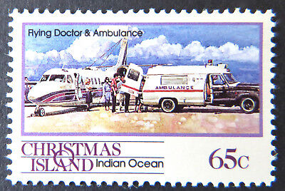 1990 Christmas Island Stamps - Transport Through the Ages Pt II - Single 65c MNH