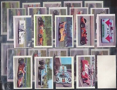 Candy Gum (Italy)-Full Set- Autosprint Ii Serie (Plain Back 30 Cards) - Exc