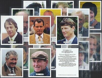 Gds-Full Set- Famous Trainers Series 1 - Horse Racing (L20 Cards) - Exc+++