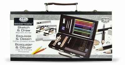 artists pencil drawing sketching starter learner kit student gift