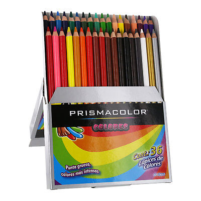 Prismacolor Colors Scholar Colored Pencil Set, Assorted Colors, 36-Count