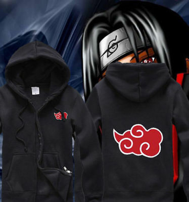 Anime Naruto Shippuden Akatsuki Fashion Clothing Sweatshirt Casual Hoodie