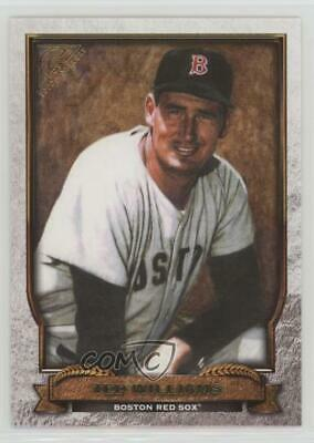 2017 Topps Gallery Hall of Fame #HOF-2 Ted Williams Boston Red Sox Baseball Card