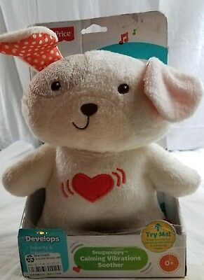 Fisher-Price Soother Snugapuppy Calming Vibrations CHR31