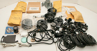 Box Lot Of 175 Slide Projector Parts - Kodak, Others, New and Used