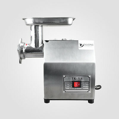 1100W meat mincer sausage maker stainless steel body grinder commercial 220kgh