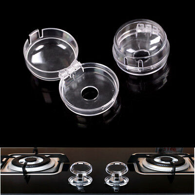 Kids Safety 2Pcs Home Kitchen Stove And Oven Knob Cover Protection HU