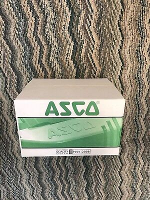 "ASCO 8210G056-120VAC 2-Way 1-1/2"" Gen Serv Brass N/C Solenoid Valve Red Hat"