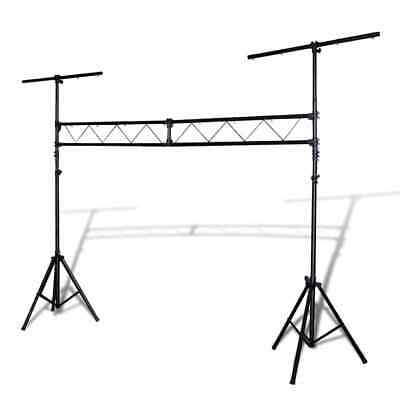 vidaXL Portable Lighting Truss System with 2 Tripods 3m Trussing Stand Rack