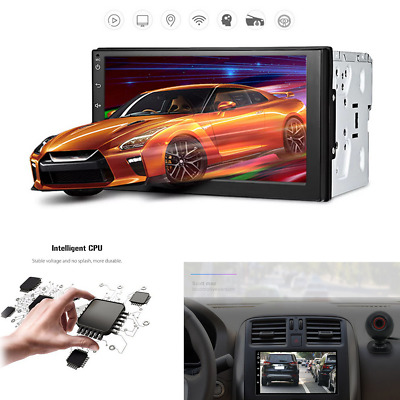 Android 6.0 Car GPS Stereo Radio Capacitive 7'' HD Touch Screen 2DIN MP5 Player