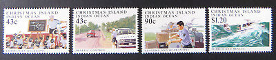 1991 Christmas Island Stamps - Policing on Christmas Island - Set of 4 MNH