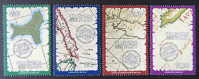1991 Christmas Island Stamps - Early Names & Places - Set of 4 MNH