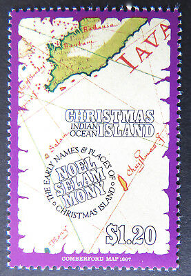 1991 Christmas Island Stamps - Early Names & Places - Single $1.20 MNH