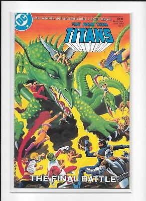 Teen Titans #9 High Grade (9.2) Dc 1985
