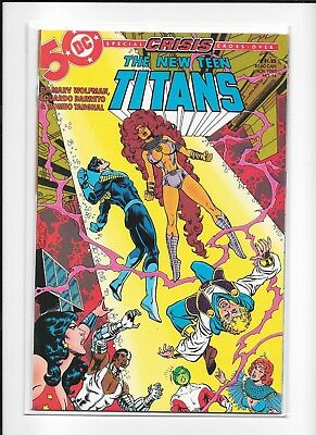 Teen Titans #14 High Grade (9.0) Dc 1985