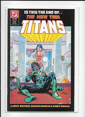 Teen Titans #19 High Grade (9.4) Dc 1986