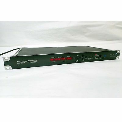 Factum Map100-E Mpeg Audio Processor Encoder 384 48Khz Digital Broadcast